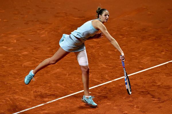 Karolina Pliskova served 10 aces against Ana Ivanovic | Photo: Dennis Grombkowski/Getty Images