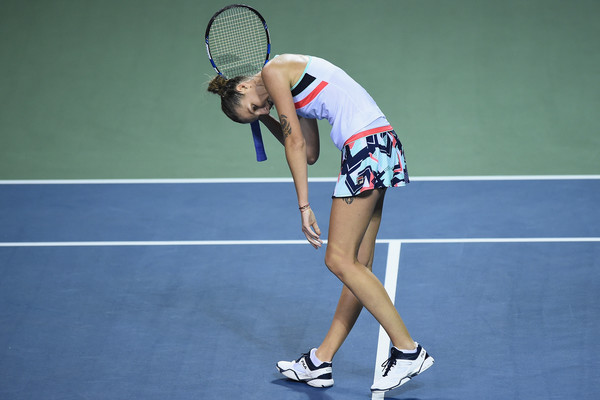 Karolina Pliskova would rue all her missed opportunities during the match, having failed to convert all of her break points | Photo: Matt Roberts/Getty Images AsiaPac