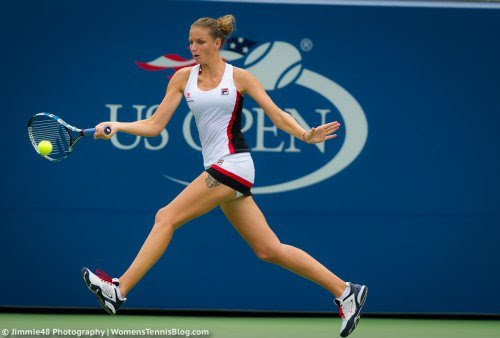 Pliskova came within a whisker of winning her first major title four years ago in New York/Photo: Jimmie48 photography