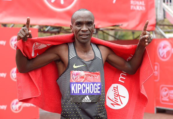 Kipchoge was successful in defending his title (Getty/WireImage/Karwai Tang)