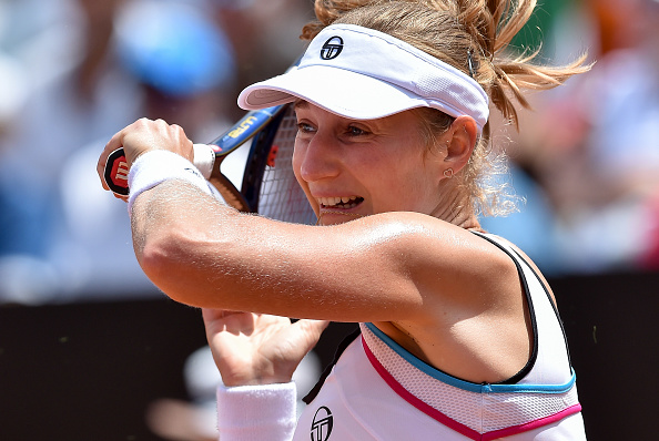 The Russian won the doubles title with Elena Vesnina in 2013 (Source: NurPhoto)