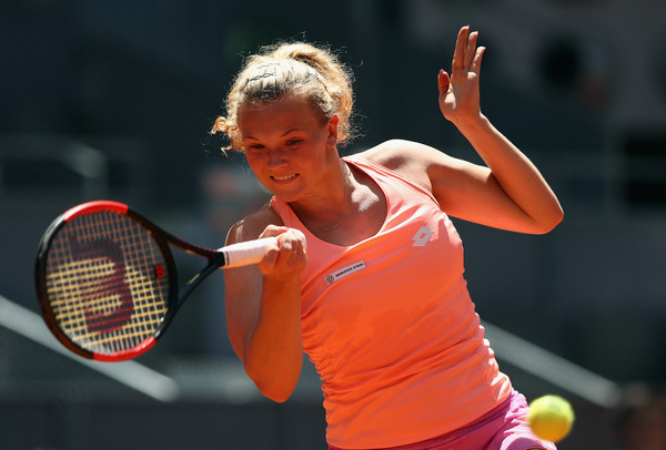 Katerina Siniakova finds herself in another blockbuster match once again | Photo: Julian Finney/Getty Images Europe