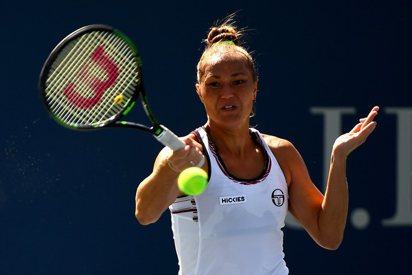 Bondarenko at the 2016 US Open | Photo: Alex Goodlett/Getty Images North America