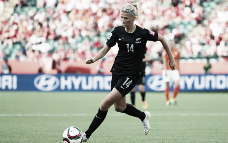 FCKC's Katie Bowen was named to the New Zealand roster (Photo: Getty/Maddie Meyer)
