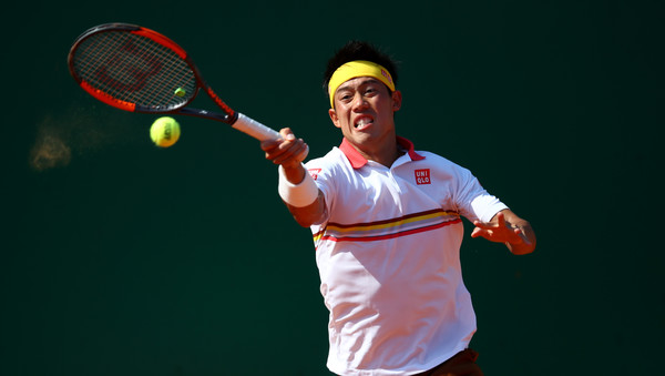 This was only Nishikori's second top-10 victory since January 2017 (Image source: Julian Finney/Getty Images Europe)