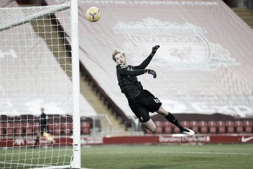 Kelleher mostrando su potencial vs Wolves. Foto: Premier League.