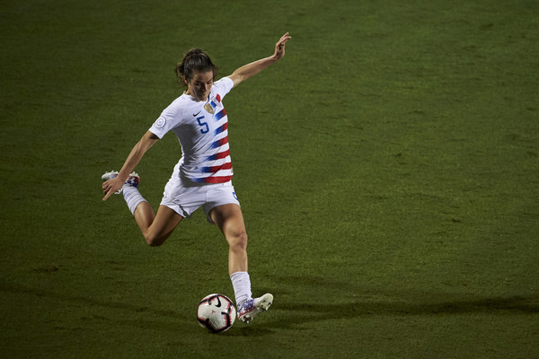 Kelley O'Hara will be unavailable for the November friendlies | Source: Cooper Neill-Getty Images North America