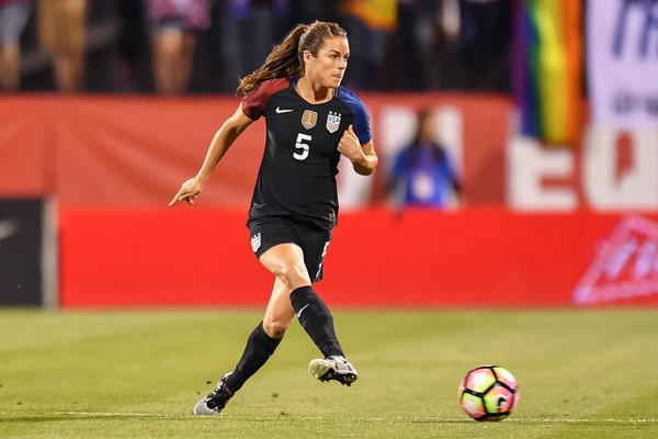 Kelley O'Hara has been named to the roster after coming back from injury | Source: Jamie Sabau-Getty Images North America