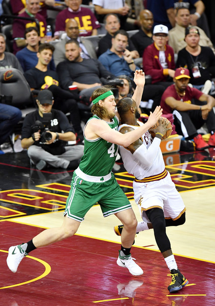 Olynyk was a spark on both ends of the floor/Photo: Jamie Sabau/Getty Images