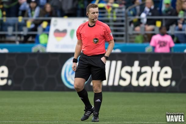 Alan Kelly will take charge of the Vancouver Whitecaps and Philadelphia Union game on Sunday to finish the Week 1 of the season. He was last seen officiating the MLS Cup Final between Toronto FC and Seattle Sounders | Source: Brandon Farris - VAVEL USA