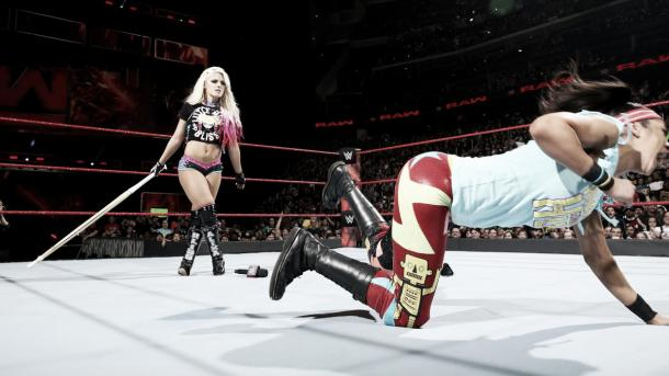 Bliss certainly made her mark. Photo- WWE.com