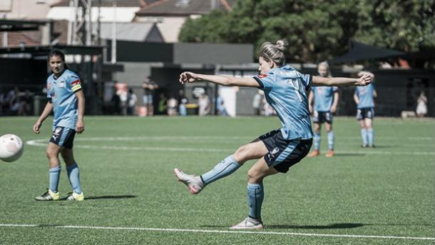Alanna Kennedy has had an impressive 2015 for both club and country (Jaime Castaneda)