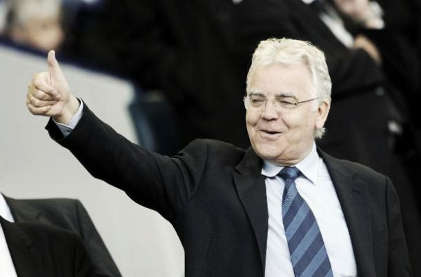 Bill Kenwright will stay on as chairman of Everton Football Club. Photo: UMaxIt.com