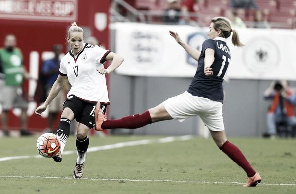 Kerschowski at the 2016 SheBelieves Cup | Image source: Zimbio