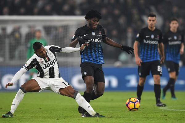 Kessie contro la Juventus, zimbio.com