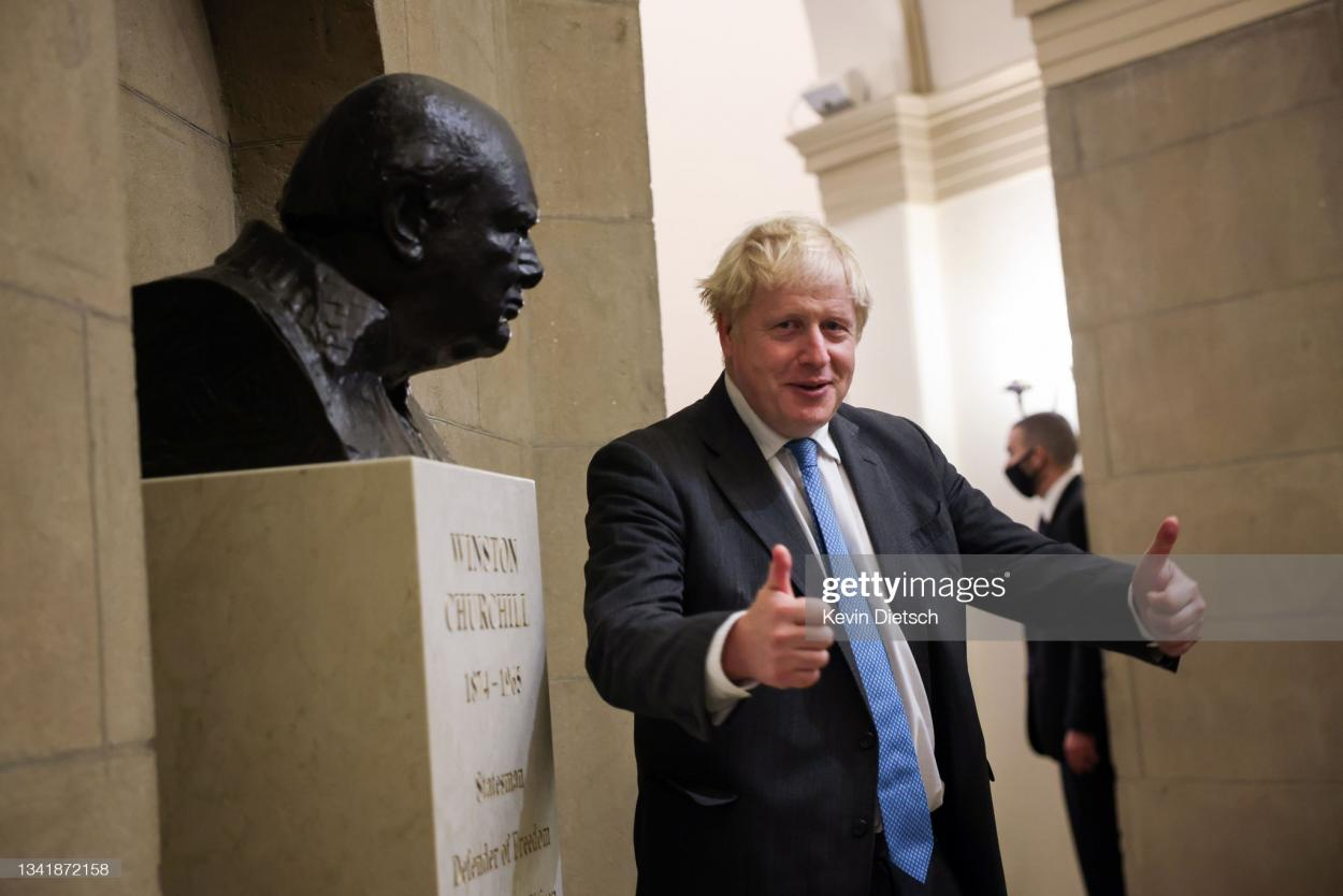 Boris Johnson has a lot of work to do: Kevin Diestch/GettyImages