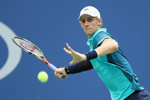 Kevin Anderson in action | Photo: Elsa/Getty Images North America