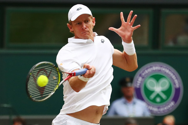 Kevin Anderson fought back from 1-2 in sets to triumph | Photo: Matthew Stockman/Getty Images Europe