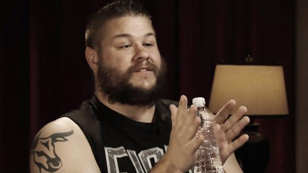 Kevin Owens said he is in favour of a brand split (image: cagesideseats.com)