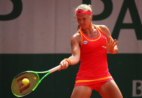 Kiki Bertens failed to replicate her semifinal run | Photo: Clive Brunskill/Getty Images Europe