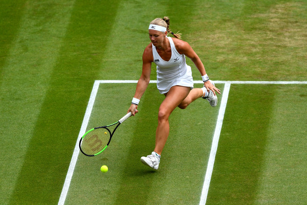 Kiki Bertens was outrageously impressive throughout the tournament   Photo: Clive Mason/Getty Images Europe