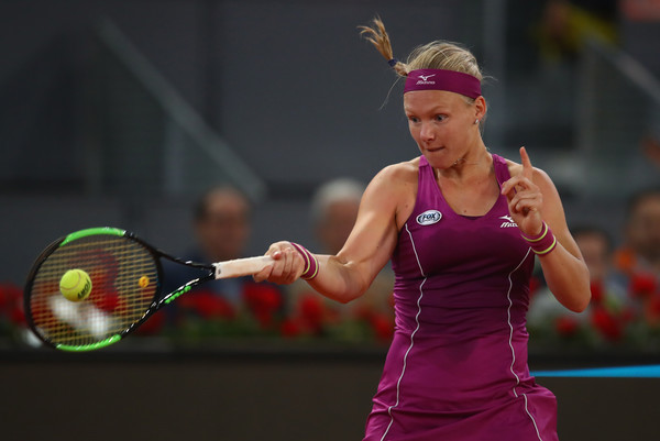 Bertens had a great start but was unable to consolidate her lead | Photo: Clive Brunskill/Getty Images Europe