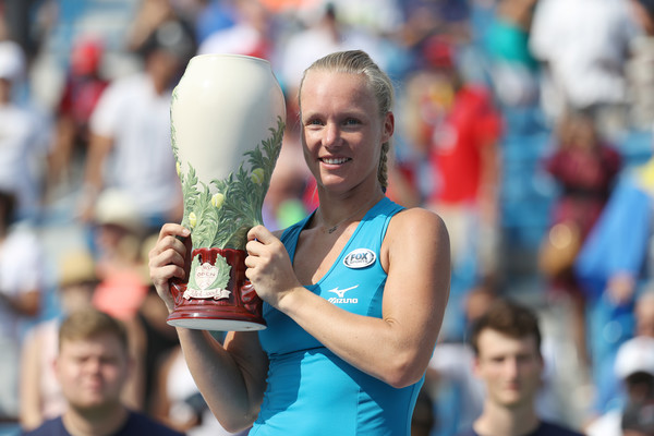 Kiki Bertens won the biggest title of her career in Cincinnati | Photo: Rob Carr/Getty Images North America