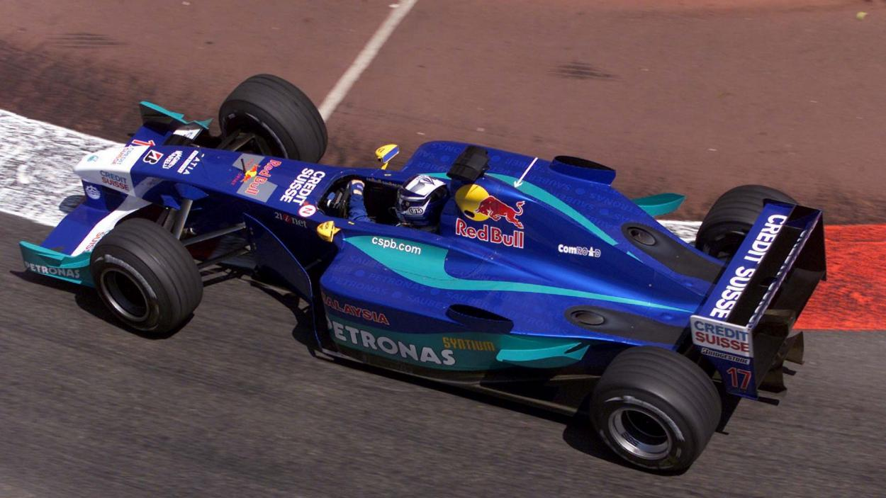 Kimi Raikkonen en el Gran Premio de Mónaco 2001. / Fuente. F1