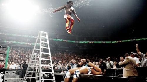 Kingston took the leap of faith. Photo- wwe-raw.org