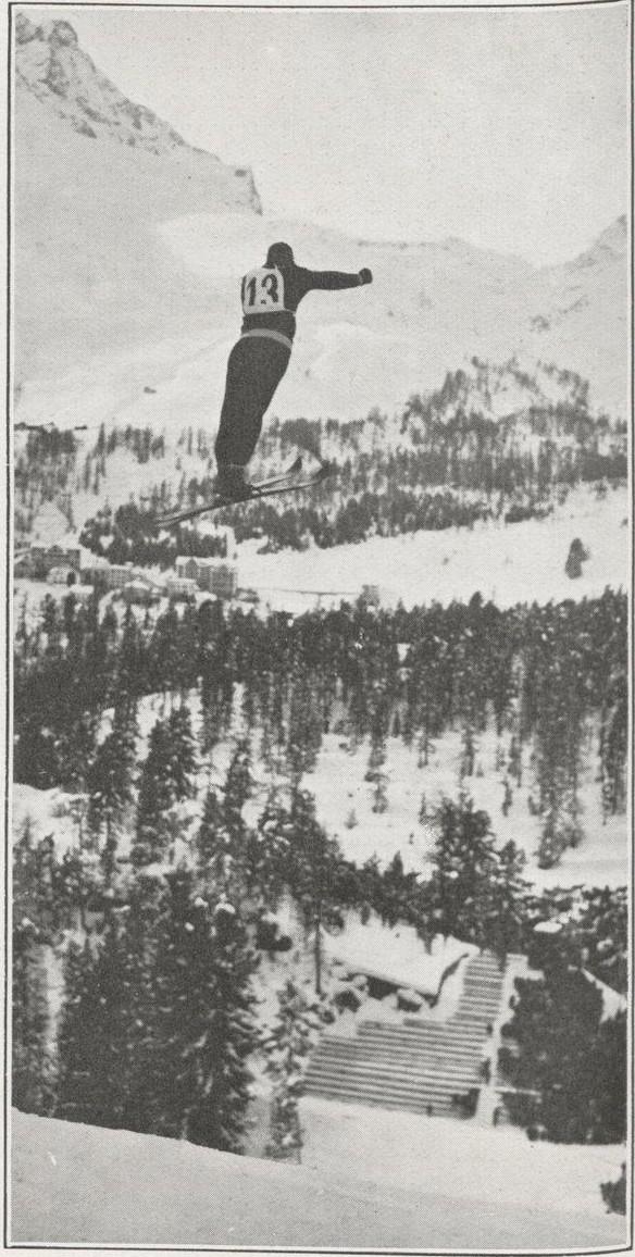 Salto de Trampolín en St. Moritz (Suiza) 1928