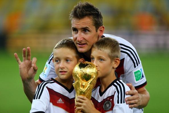 Klose se despedía de la selección ganando el Mundial. // Foto: Getty Images
