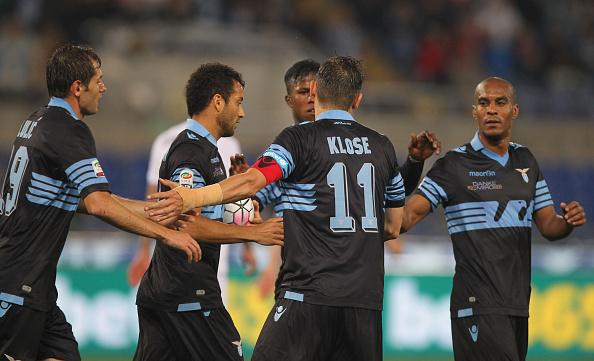 Klose chegou a 64 gols com a camisa laziale (Foto: Paolo Bruno/Getty Images)