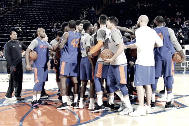 Open practice / Foto: NBA.com