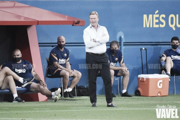 Koeman, técnico del Barcelona | Foto: Noelia Déniz - VAVEL