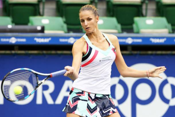 Pliskova will be the more attacking of the two (Getty/Koji Watanabe)