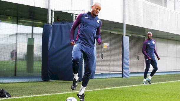 Kompany, capitán del City | Fotografía: Manchester City