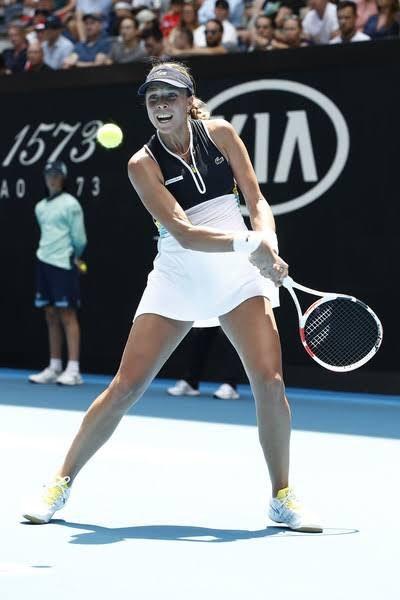 Anett Kontaveit. Foto: WTA Español @WTA_Espanol