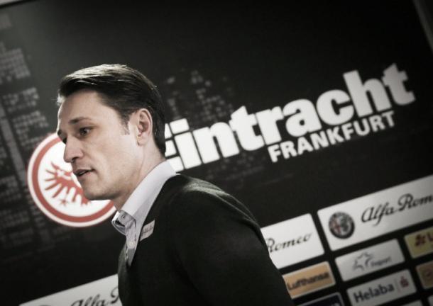 Kovac atendió a la prensa. Foto: Eintracht