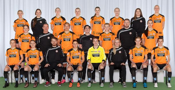 Kristianstad's team for the 2016 season. Source : www.kdff.nu/
