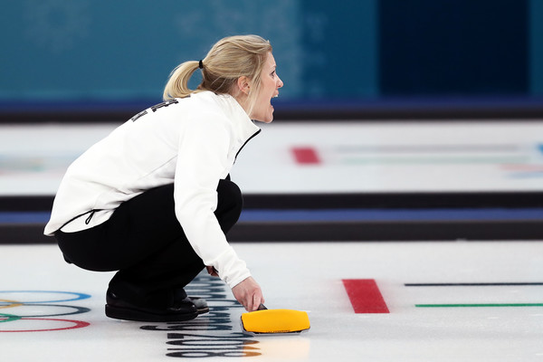 Skaslien yells out a command during Norway's victory over Canada/Photo: Ronald Martinez/Getty Images