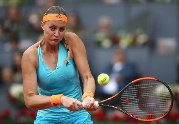 Kristina Mladenovic jumped out to a great start, breaking serve in the opening game | Photo: Julian Finney/Getty Images Europe