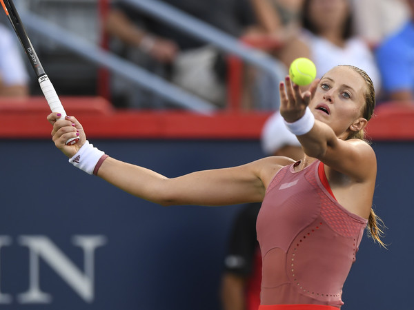 Kristina Mladenovic will have to dig for her confidence and self-belief once more | Photo: Minas Panagiotakis/Getty Images North America