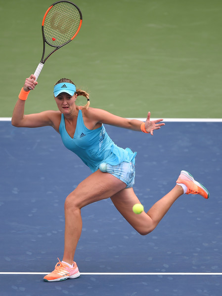 Mladenovic had the early break once again | Photo: Tom Dulat/Getty Images
