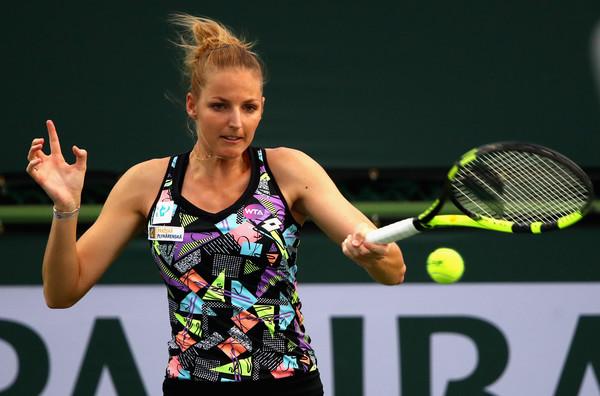 Kristyna Pliskova just beat Daria Kasatkina days ago | Photo: Clive Brunskill/Getty Images North America