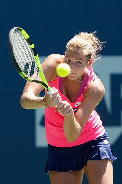 Kristyna Pliskova at the Bank of the West Classic last year | Photo: Lachlan Cunningham/Getty Images North America