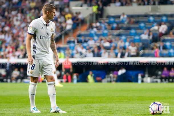 Kroos es el máximo asistente del equipo con 12 pases de gol. | FOTO: Daniel Nieto - VAVEL