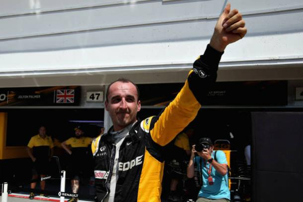 Robert Kubica completa primeiro teste com a Williams