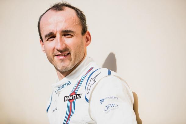 Kubica, que fez testes pela Williams em 2017, será piloto reserva (Foto: Divulgação/Formula 1)