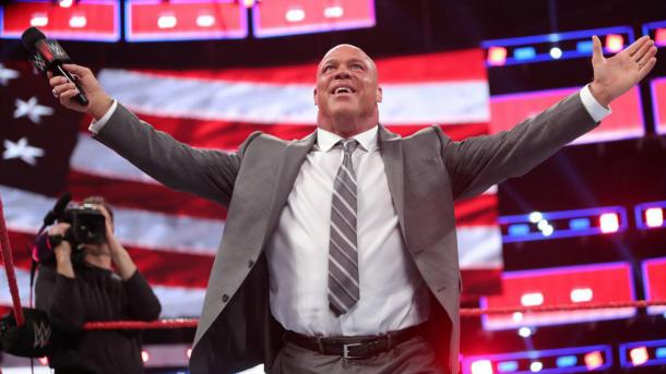 Kurt Angle has at least one more match left in him (image: skysports)