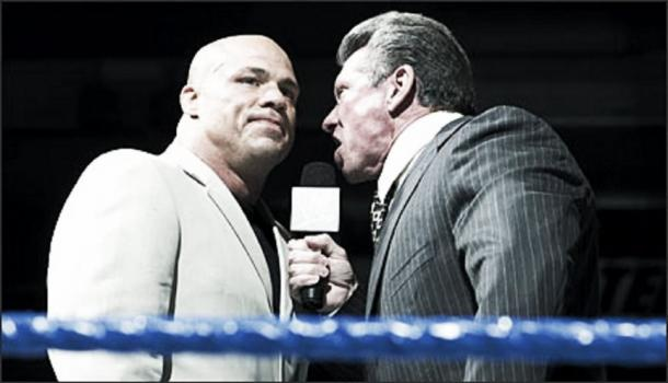 Angle said he felt Vince McMahon always cared about him (image: the sportster.com)